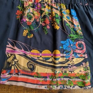 Anthropologie Dresses - Anthro Leifnotes Silk Lilium Shirt Dress